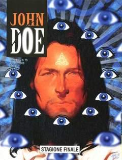Copertina JOHN DOE n.75 - STAGIONE FINALE, EDITORIALE AUREA