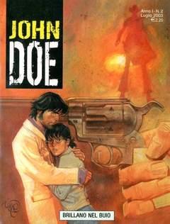 Copertina JOHN DOE n.2 - Brillano nel buio, EDITORIALE AUREA