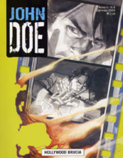 Copertina JOHN DOE n.8 - Hollywood brucia, EDITORIALE AUREA