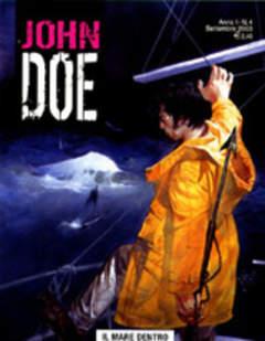 Copertina JOHN DOE n.4 - Il mare dentro, EDITORIALE AUREA