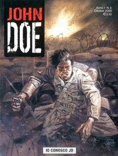 Copertina JOHN DOE n.5 - Io conosco John Doe, EDITORIALE AUREA