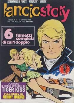 Copertina LANCIOSTORY ANNO 01 n.10 - LANCIOSTORY 1975   10, EDITORIALE AUREA