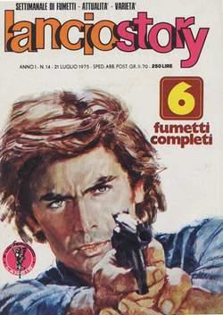 Copertina LANCIOSTORY ANNO 01 n.14 - LANCIOSTORY 1975   14, EDITORIALE AUREA