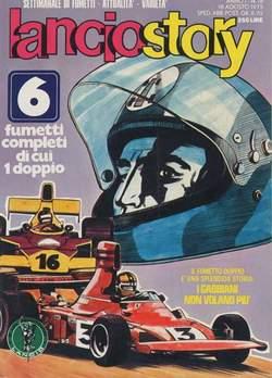 Copertina LANCIOSTORY ANNO 01 n.18 - LANCIOSTORY 1975   18, EDITORIALE AUREA