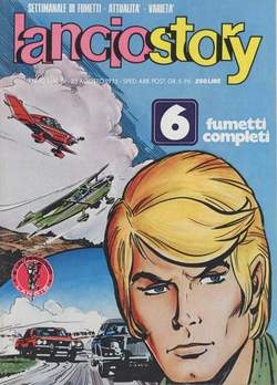 Copertina LANCIOSTORY ANNO 01 n.19 - LANCIOSTORY 1975   19, EDITORIALE AUREA