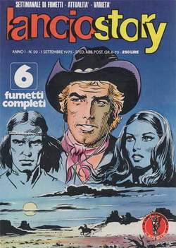 Copertina LANCIOSTORY ANNO 01 n.20 - LANCIOSTORY 1975   20, EDITORIALE AUREA
