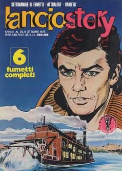 Copertina LANCIOSTORY ANNO 01 n.25 - LANCIOSTORY 1975   25, EDITORIALE AUREA