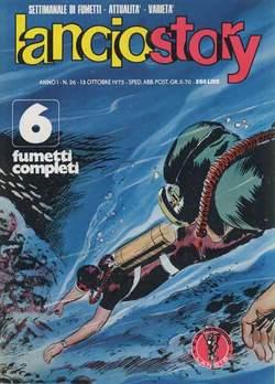 Copertina LANCIOSTORY ANNO 01 n.26 - LANCIOSTORY 1975   26, EDITORIALE AUREA