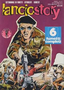 Copertina LANCIOSTORY ANNO 01 n.27 - LANCIOSTORY 1975   27, EDITORIALE AUREA