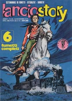 Copertina LANCIOSTORY ANNO 01 n.30 - LANCIOSTORY 1975   30, EDITORIALE AUREA