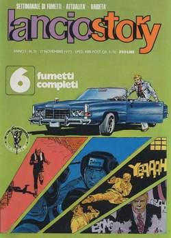 Copertina LANCIOSTORY ANNO 01 n.31 - LANCIOSTORY 1975   31, EDITORIALE AUREA