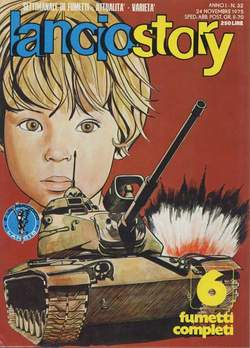 Copertina LANCIOSTORY ANNO 01 n.32 - LANCIOSTORY 1975   32, EDITORIALE AUREA