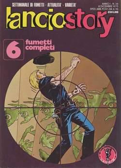 Copertina LANCIOSTORY ANNO 01 n.34 - LANCIOSTORY 1975   34, EDITORIALE AUREA