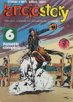 Copertina LANCIOSTORY ANNO 01 n.36 - LANCIOSTORY 1975   36, EDITORIALE AUREA
