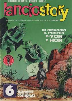 Copertina LANCIOSTORY ANNO 01 n.38 - LANCIOSTORY 1975   38, EDITORIALE AUREA