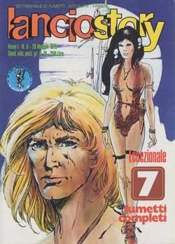 Copertina LANCIOSTORY ANNO 01 n.6 - LANCIOSTORY 1975    6, EDITORIALE AUREA
