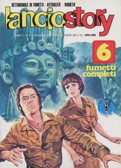 Copertina LANCIOSTORY ANNO 01 n.8 - LANCIOSTORY 1975    8, EDITORIALE AUREA