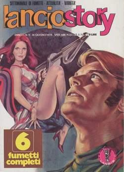 Copertina LANCIOSTORY ANNO 01 n.9 - LANCIOSTORY 1975    9, EDITORIALE AUREA