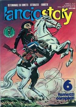 Copertina LANCIOSTORY ANNO 02 n.11 - LANCIOSTORY 1976   11, EDITORIALE AUREA