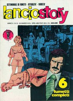 Copertina LANCIOSTORY ANNO 02 n.12 - LANCIOSTORY 1976   12, EDITORIALE AUREA