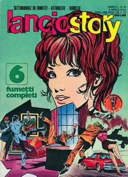 Copertina LANCIOSTORY ANNO 02 n.13 - LANCIOSTORY 1976   13, EDITORIALE AUREA