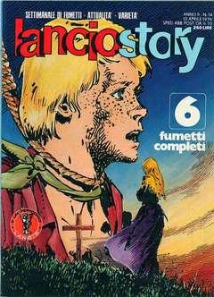 Copertina LANCIOSTORY ANNO 02 n.14 - LANCIOSTORY 1976   14, EDITORIALE AUREA