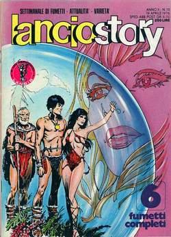 Copertina LANCIOSTORY ANNO 02 n.15 - LANCIOSTORY 1976   15, EDITORIALE AUREA
