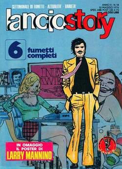 Copertina LANCIOSTORY ANNO 02 n.18 - LANCIOSTORY 1976   18, EDITORIALE AUREA