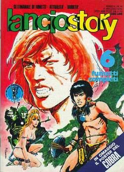 Copertina LANCIOSTORY ANNO 02 n.19 - LANCIOSTORY 1976   19, EDITORIALE AUREA