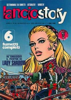 Copertina LANCIOSTORY ANNO 02 n.20 - LANCIOSTORY 1976   20, EDITORIALE AUREA