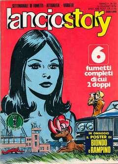 Copertina LANCIOSTORY ANNO 02 n.23 - LANCIOSTORY 1976   23, EDITORIALE AUREA