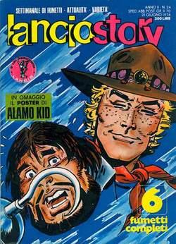 Copertina LANCIOSTORY ANNO 02 n.24 - LANCIOSTORY 1976   24, EDITORIALE AUREA