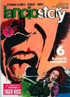 Copertina LANCIOSTORY ANNO 02 n.25 - LANCIOSTORY 1976   25, EDITORIALE AUREA