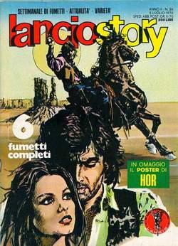 Copertina LANCIOSTORY ANNO 02 n.26 - LANCIOSTORY 1976   26, EDITORIALE AUREA
