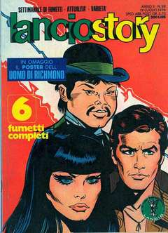 Copertina LANCIOSTORY ANNO 02 n.28 - LANCIOSTORY 1976   28, EDITORIALE AUREA
