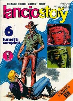 Copertina LANCIOSTORY ANNO 02 n.29 - LANCIOSTORY 1976   29, EDITORIALE AUREA