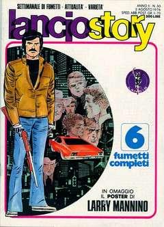 Copertina LANCIOSTORY ANNO 02 n.30 - LANCIOSTORY 1976   30, EDITORIALE AUREA