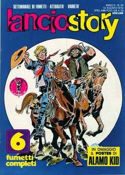 Copertina LANCIOSTORY ANNO 02 n.32 - LANCIOSTORY 1976   32, EDITORIALE AUREA