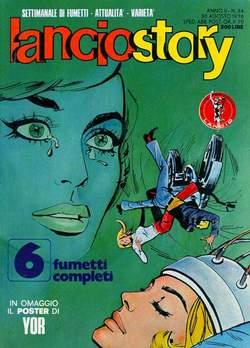 Copertina LANCIOSTORY ANNO 02 n.34 - LANCIOSTORY 1976   34, EDITORIALE AUREA
