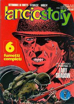 Copertina LANCIOSTORY ANNO 02 n.35 - LANCIOSTORY 1976   35, EDITORIALE AUREA