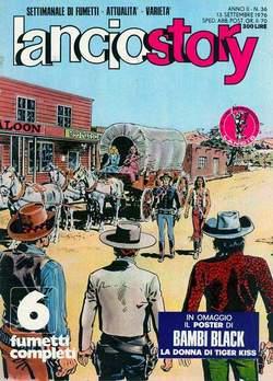 Copertina LANCIOSTORY ANNO 02 n.36 - LANCIOSTORY 1976   36, EDITORIALE AUREA