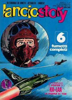 Copertina LANCIOSTORY ANNO 02 n.37 - LANCIOSTORY 1976   37, EDITORIALE AUREA