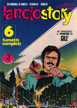 Copertina LANCIOSTORY ANNO 02 n.38 - LANCIOSTORY 1976   38, EDITORIALE AUREA