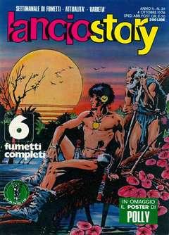Copertina LANCIOSTORY ANNO 02 n.39 - LANCIOSTORY 1976   39, EDITORIALE AUREA