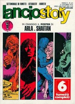 Copertina LANCIOSTORY ANNO 02 n.40 - LANCIOSTORY 1976   40, EDITORIALE AUREA