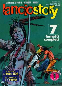 Copertina LANCIOSTORY ANNO 02 n.41 - LANCIOSTORY 1976   41, EDITORIALE AUREA