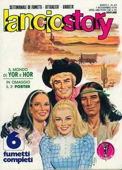 Copertina LANCIOSTORY ANNO 02 n.43 - LANCIOSTORY 1976   43, EDITORIALE AUREA