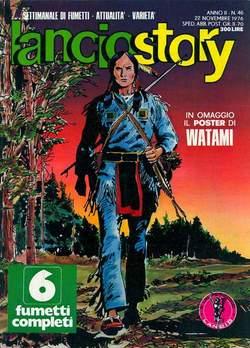 Copertina LANCIOSTORY ANNO 02 n.46 - LANCIOSTORY 1976   46, EDITORIALE AUREA