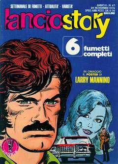 Copertina LANCIOSTORY ANNO 02 n.47 - LANCIOSTORY 1976   47, EDITORIALE AUREA