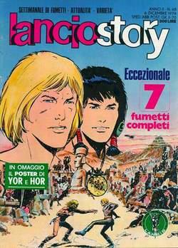 Copertina LANCIOSTORY ANNO 02 n.48 - LANCIOSTORY 1976   48, EDITORIALE AUREA